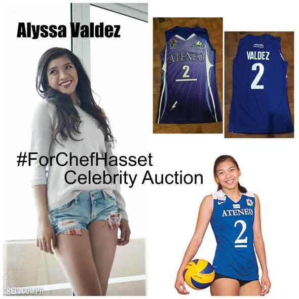 The auction post on the For Chef Hasset facebook page.