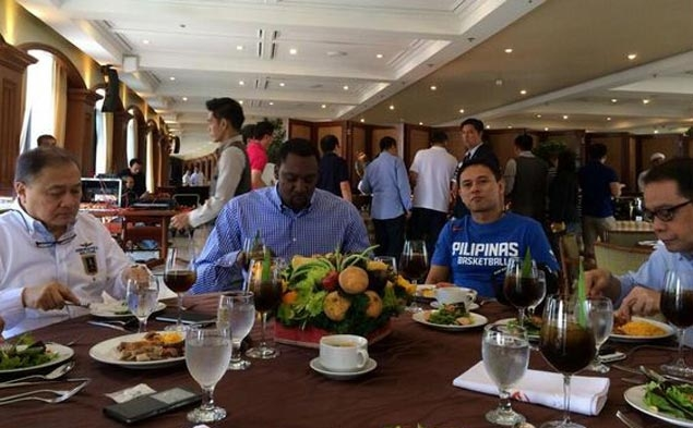 Blatche's first order of business in adopted land is to wash away confusion over 'laundry' tweet