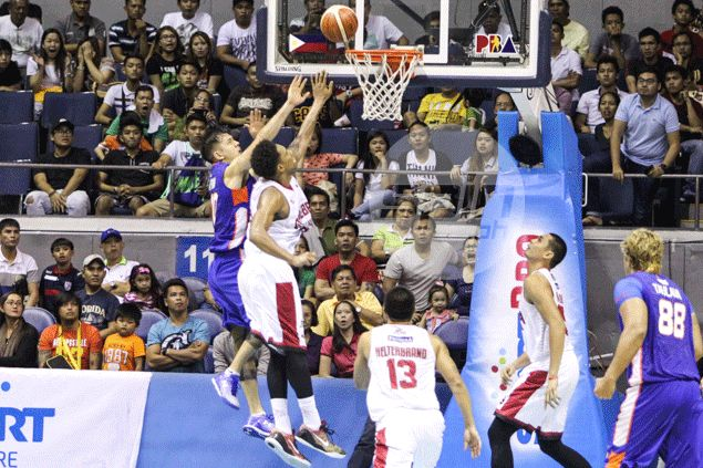 Sean Anthony missed the potential game-winner for NLEX