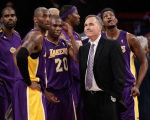 Los Angeles Lakers. AP
