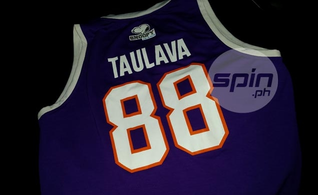 Here's a picture of the jersey that went missing. Photo by Snow Badua