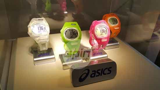 ASICS Night LED Watches come in four distinct colors
