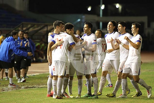 Azkals notch new all-time high in world rankings at 127th
