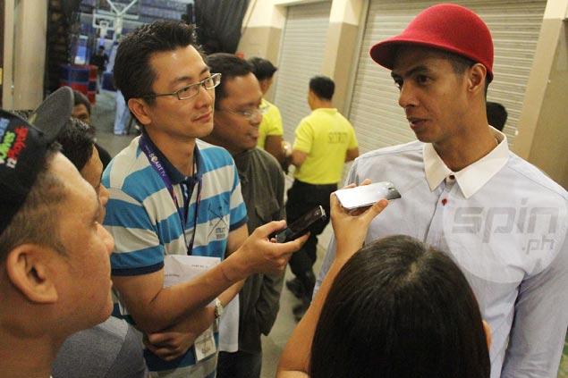 Balkman apologizes to Arwind Santos