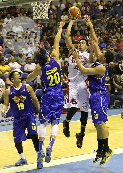 Is Mac Baracael on the way out at Ginebra?