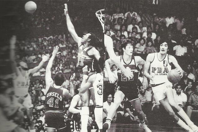 From numerous visits by NBA stars, Bullets' 1979 game stands out