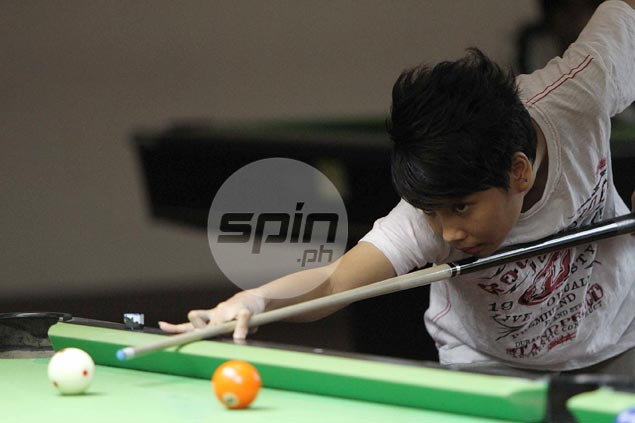 Billiards is kid's stuff for phenom Centeno
