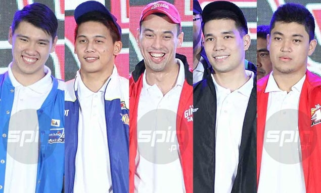 Ateneo had three first-rounders in the PBA rookie draft and five of