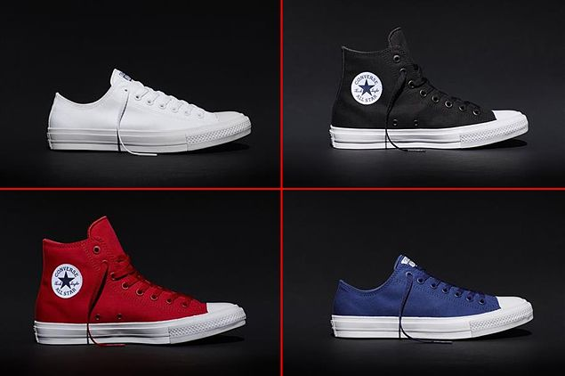 Interpretar Zapatos Sábana  Converse makes first construction update on iconic Chuck Taylor shoes in 98  years