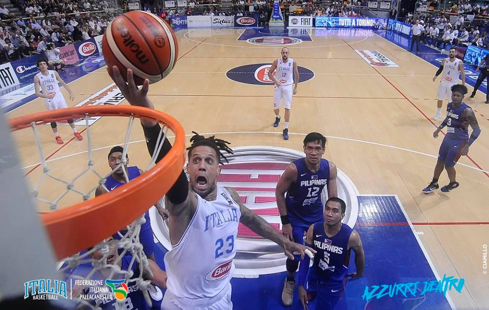Gilas Pilipinas pays for slow start in blowout loss to hot-shooting Italy side