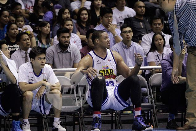 Purefoods import Daniel Orton was clearly a very frustrated man during the match against the Manny Pacquiao-led KIA side. Jerome Ascano