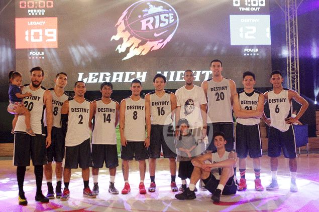 Team Destiny: Winner over Team Legacy during the Nike Rise Legacy Night. Jerome Ascano