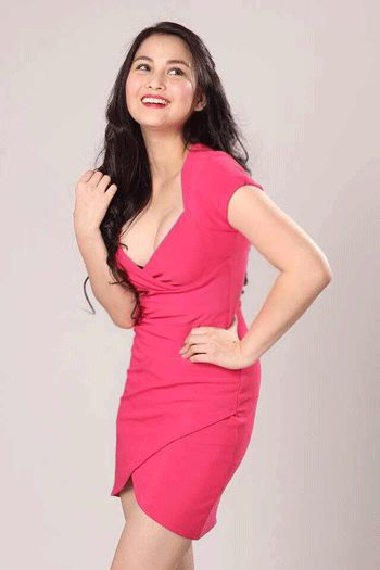 Actress Dianne Medina will be the muse of NLEX. Photo from Snow Badua