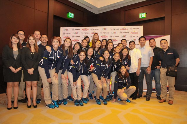 Foton bares 18-woman pool, sets semifinal goal in Asian Club Women's Championship