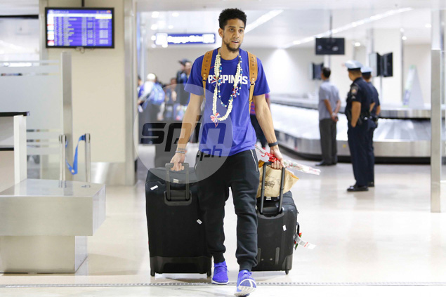 Gabe Norwood rolls along.