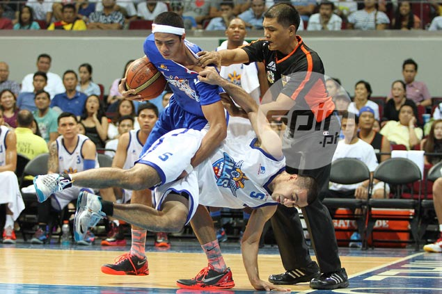 Castro, Tenorio man enough to accept blame after tirade from Gilas coach