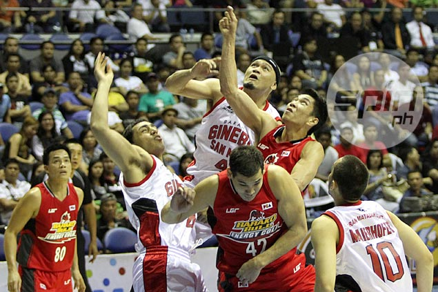 72 win over Barako Bull - the Kings' first of the year. Jerome Ascano