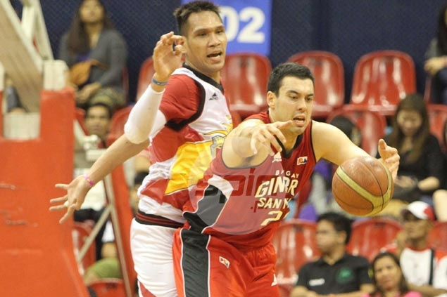 Pint-sized LA Tenorio steals show from giants as Ginebra turns back San Miguel Beer