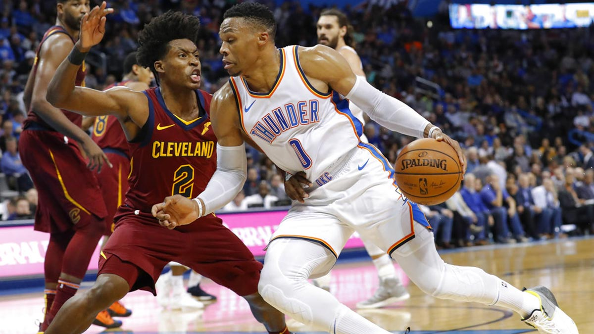 Westbrook ties Kidd at No 3 in triple-double list as Thunder