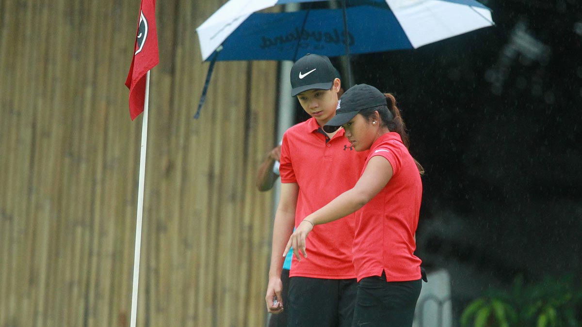 bianca pagdanganan jed dy national doubles amateur golf ...
