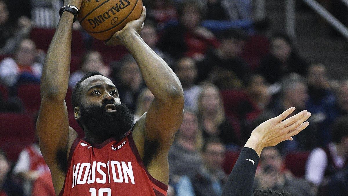 50547191c827 James Harden extends 30-point streak to 22 games as Rockets beat Raptors