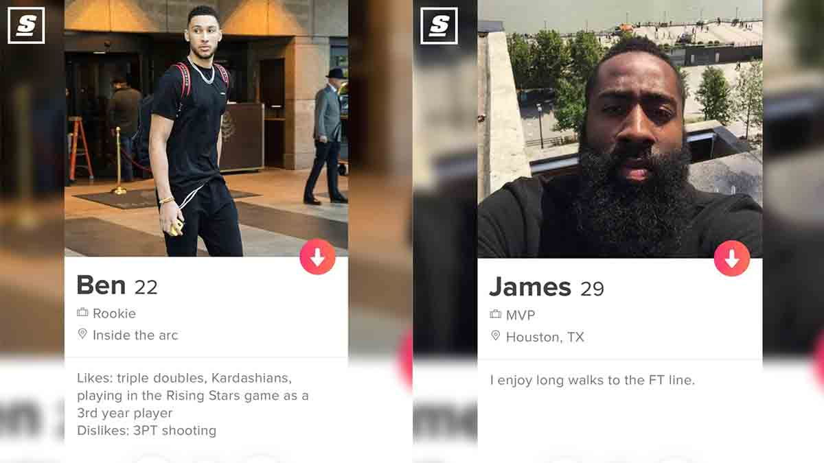 These Tinder profile for NBA All-Stars will crack you up