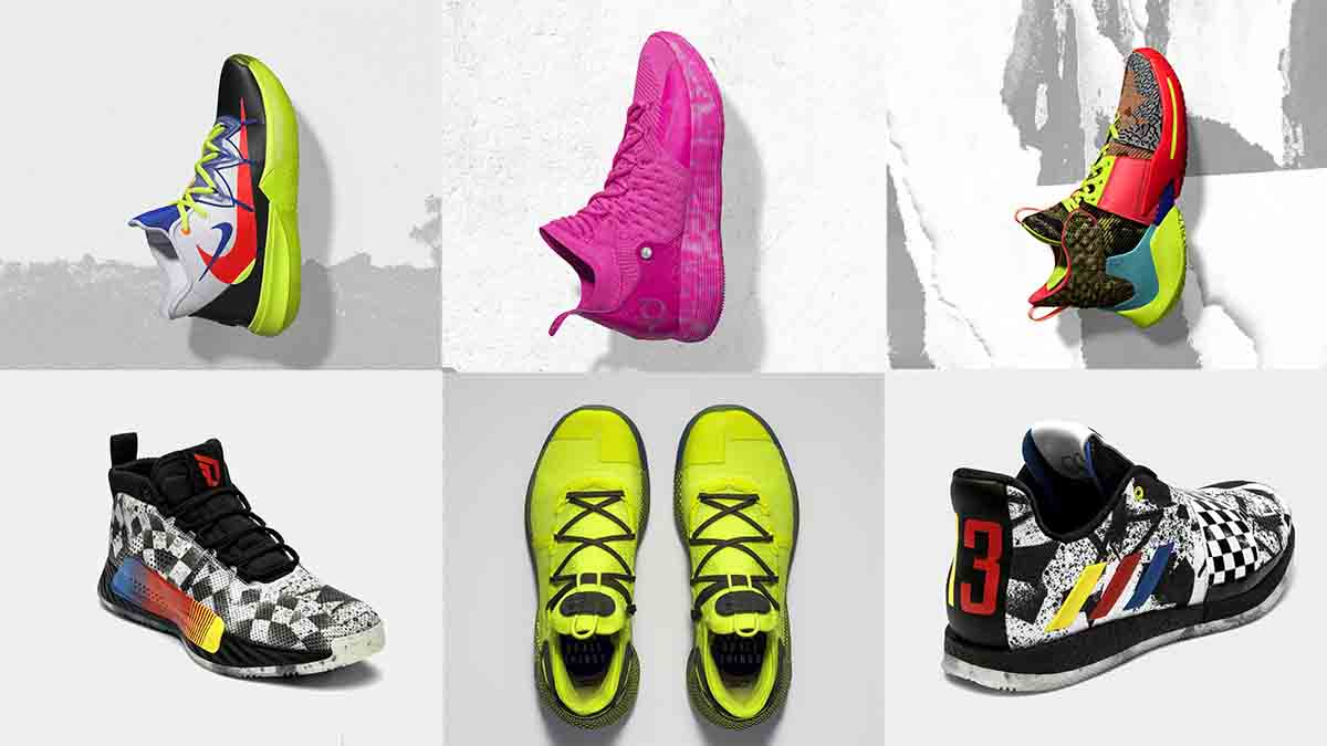0488be35669e See the shoes that KD and Co. will roll out for NBA All-Star weekend