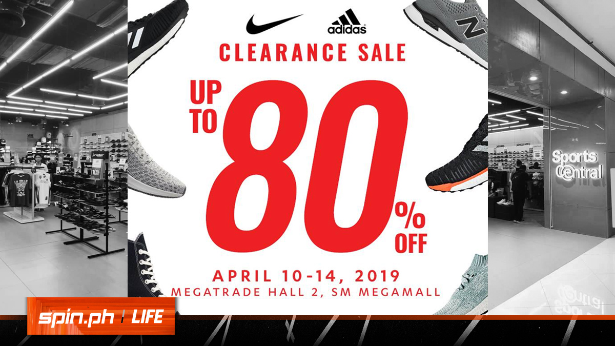 Get up to 80% off on Nike, adidas, and Co  at Sports