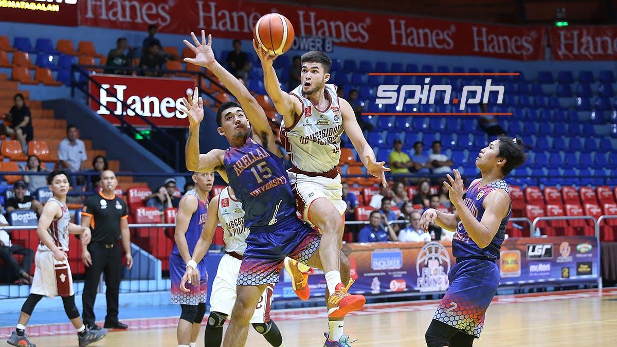 Kobe Paras, Ricci Rivero Atone As UP Maroons Rip Arellano