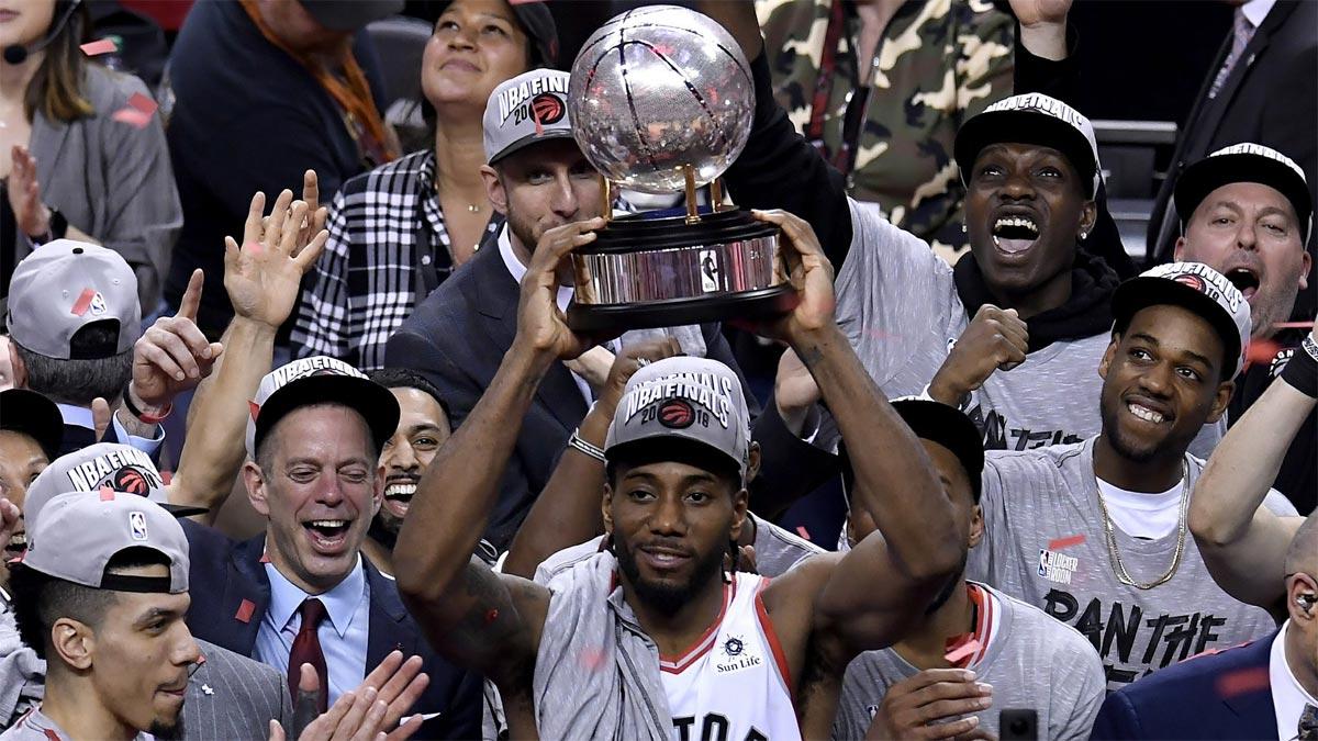 Kawhi Leonard scores 27 as Raptors beat Bucks to reach Finals