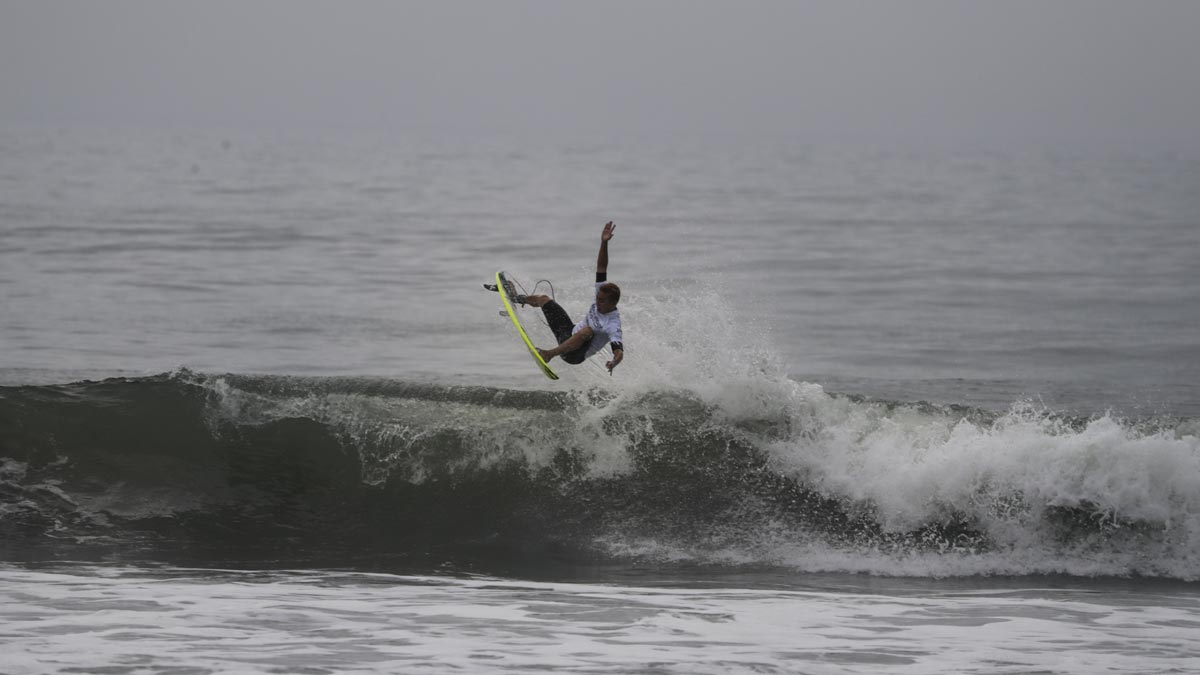Surfers test waves ahead of sport's Olympic debut in Tokyo