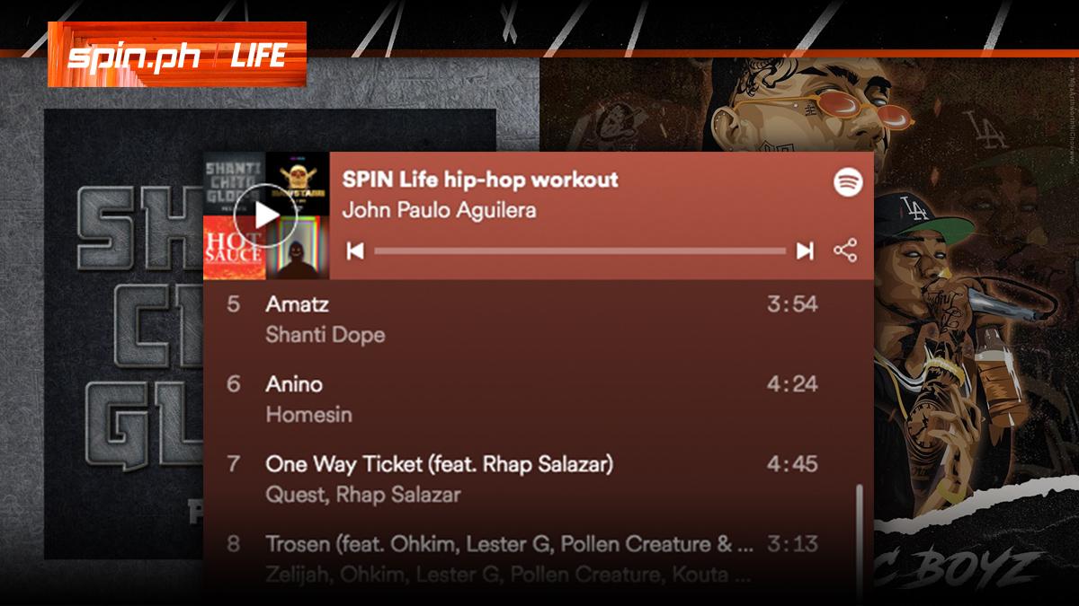 2019 Pinoy hip-hop workout playlist