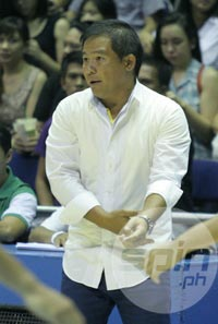 National team coach Chot Reyes could join FEU as its program head for basketball. Photo by Jerome Ascano
