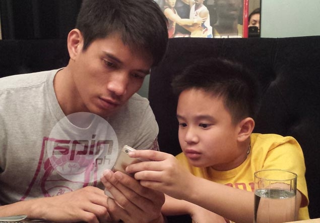 Yap's girlfriend happy to step aside to let him enjoy time with son Baby James