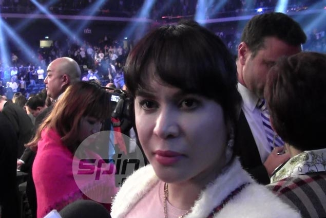 Anxiety goes away as Jinkee relieved to see Pacquiao get over traumatic loss to Marquez