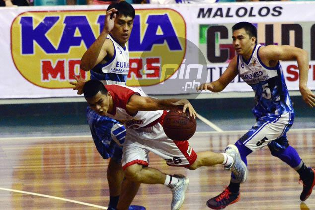 Jiovani Jalalon led Caida Tiles with 20 points. Freddie Dionisio