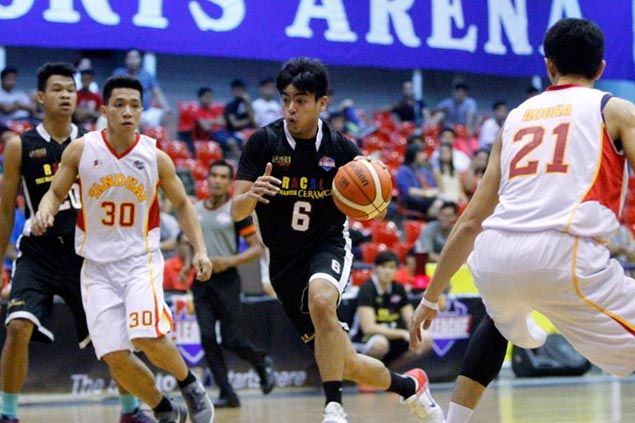Racal turns back Tanduay to tighten grip on D-League top spot