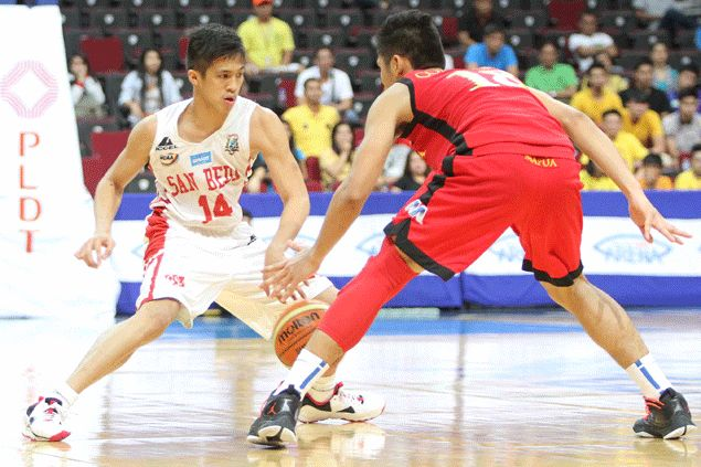 Joshua Curacut has blossomed for the Red Cubs this season following the departure of Arvin Tolentino, who is now with the Ateneo Blue Eagles. Jerome Ascano