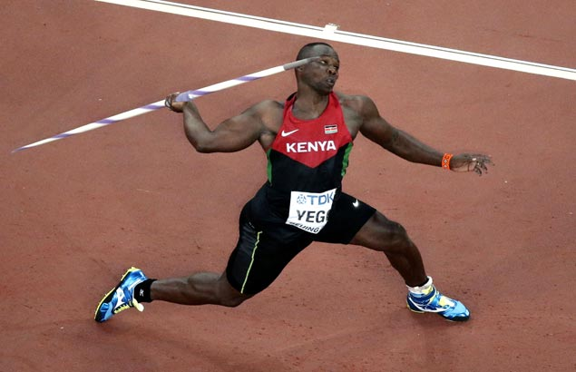 <span>Kenyan who learned to throw javelin from YouTube, now on cusp of Olympic gold</span>