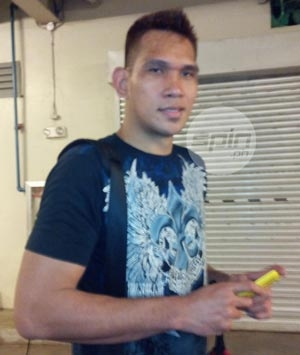June Mar Fajardo says he's expecting a call or a text message from mentor Danny Ildefonso. Snow Badua