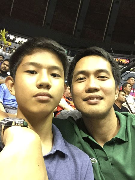 Raymundo watched Game Seven of the Talk 'N Text-Rain or Shine series with his son, hoping it could rekindle his desire to play. It did not. Snow Badua