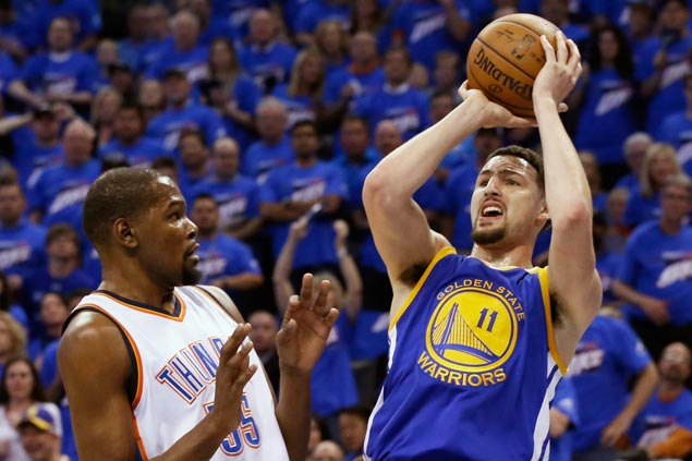 Stephen Curry to Klay Thompson before fourth quarter of Game 6:'This is your time'
