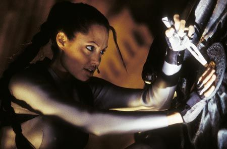 Angelina Jolie in 'Lara Croft: The Cradle of Life'