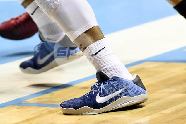 Paul Lee brings his trademark swagger to his kicks with the Nike Kobe XI Elite 'Brave Blue'