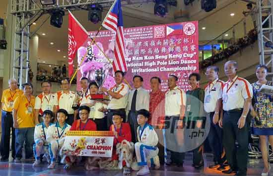 Defending champions Kun Seng Keng Lion and Dragon Dance Association Negeri Sembilan consistently ranked first in the standings in three-day competition