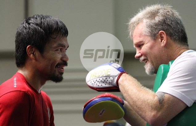 Freddie Roach tells defiant Brandon Rios: 'Yes, you are a punching bag'