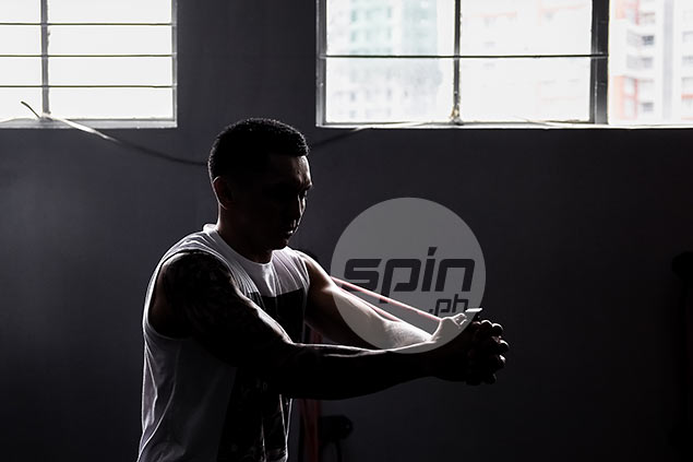 Jimmy Alapag has been a regular since the gym opened six months ago