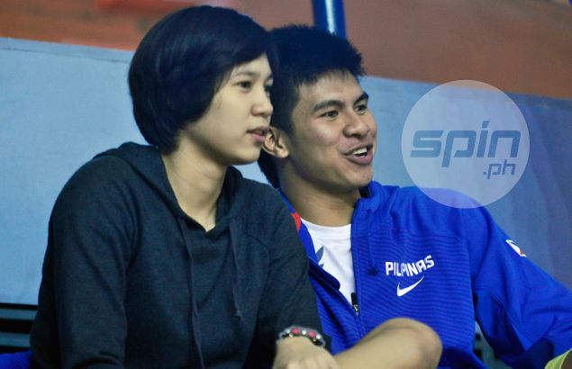 Kiefer Ravena Mika Reyes Watch San Beda Game Together We Re Just Good Friends