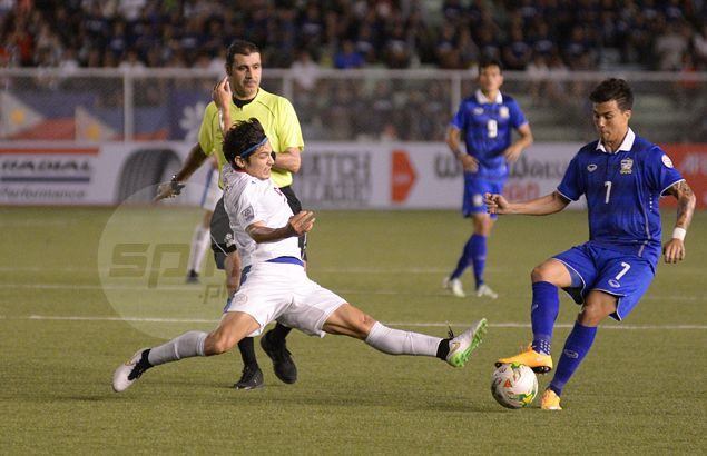 Azkals held to scoreless draw by 10-man Thailand in thrilling Suzuki Cup home semi