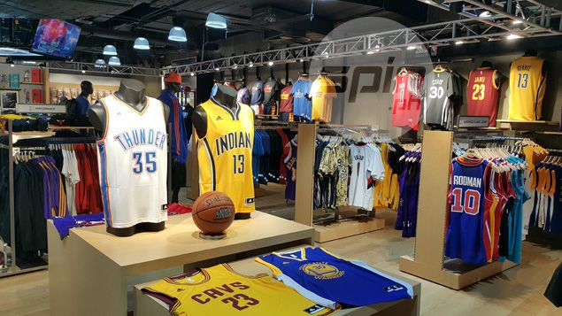 new style d3d28 1389f NBA cements foothold in country by opening second theme ...